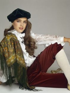 brooke shields fashion covers images | Fashion Flashback: Brooke Shields' 10 Most Awesomely '80s Looks