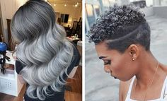 """It has become one of the most unusual of trends but grey or silver hair seems to have become a bit of a """"thing"""" recently. Once upon a time women were expected to hide their grey's but nowadays, it's the trendiest color you can rock. Rocked by the likes of Pink, Kelly Osborne, Rita Ora …"""