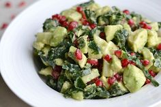 Avocado Pomegranate Salad (AIP/Paleo/Refined Sugar-Free) | Lichen Paleo, Loving AIP