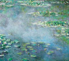 Claude Monet. Water Lilies  (1906).