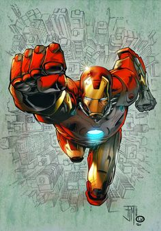 Iron Man by Francis Manapul