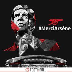 Arsène Wenger! Merci Beaucoup #Arsenal #ArseneWenger #MerciArsene #Wenger #Gunners #EPL #Football #Soccer #Futbol #FootTheBall Epl Football, Arsene Wenger, North London, Arsenal Fc, Art Art, Chelsea, Graphics, Tattoos, Sexy