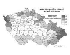Mapa seizmických oblastí ČR – Vyhledávání Google