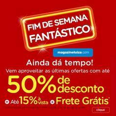 1d4c0164ad A Liquidação Fantástica Magazine Luiza foi um grande sucesso, mas as  promoções não param!