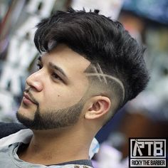 Visit for more 35 Cool Mens Hairstyles www.menshairstyle The post 35 Cool Mens Hairstyles www.menshairstyle appeared first on frisuren. Hair Tattoo Designs, Cool Hair Designs, Hair Designs For Men, Cool Hairstyles For Men, Haircuts For Men, 2018 Haircuts, Undercut Hairstyles, Hairstyles Haircuts, Thick Hairstyles