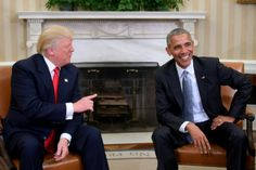 Obama hails 'excellent' W.House talks with Trump
