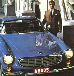 Volvo and the Crown prince of Sweden Volvo Coupe, Volvo P1800s, Volvo Cars, Good Looking Cars, Austin Healey, Car Photos, Aston Martin, Cars Motorcycles, Cool Cars