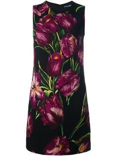 TULIP PRINT SHIFT DRESS #style #fashion #trend #onlineshop #shoptagr