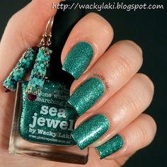 Wacky Laki: Presenting piCture pOlish Sea Jewel by Wacky Laki!