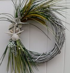 Another Coastal accent wreath..I think I'm on a wreath kick.