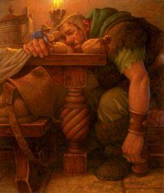 Scott Gustafson -- Jack and the Sleeping Giant