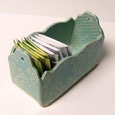 Slab Built, Handmade Ceramic Box