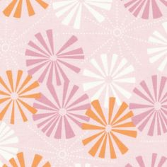 Orange/pink fabric