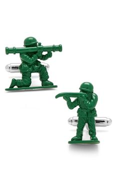 Cufflinks, Inc. Green Army Men Cuff Links available at #Nordstrom
