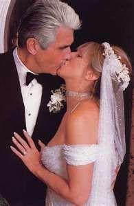 Actress/Singer Barbra Streisand weds actor James Brolin July 1, 1998.