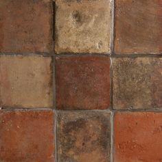Handmade Terracotta Square Floor Tile