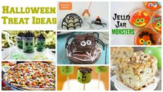 Halloween Treat Ideas-posted by Cheryl...Here are some delicious Halloween treat ideas from some talented bloggers. Get your napkin ready because I'm sure there will be some drooling going on!