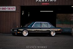As Long As It's Black – Riley Stair's 1986 #BMW #E28 #535i
