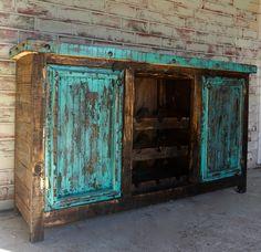 Borracho Wine Cabinet. Wine CabinetsRustic FurnitureNail