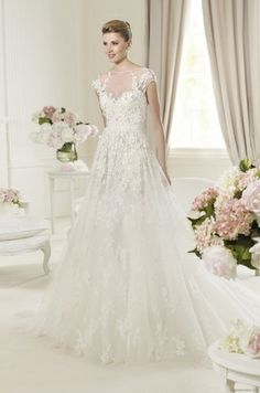 Provonias lace wedding dress