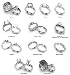 different Ring Styles