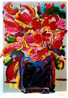 Flower Vase by Peter Max