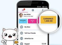 WowApp WhatsApp a rakip oldu. WowApp ile sosyalleş ve para kazan