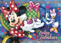 Kinderpuzzle 104 Teile Minnie mit 3D Effekt (20080) Mickey Mouse in Spielzeug, Puzzles & Geduldspiele, Puzzles | eBay