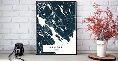 Halifax Halifax Halifax | Custom Map Maker – Make Your Own Map Poster Online - YourOwnMaps