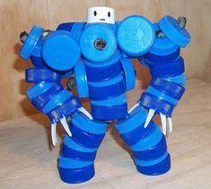 çevreci oyuncak robot – 10marifet.org