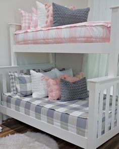 Have a bunk bed? You need Beddy's! Use code PINTEREST for 20% off your order! . #beddys #zipperbedding #zipyourbed #girlbedding #girlbed #beddysbeds #girlyroom #girlsroomdecor #girlsroom #girlsroominspo #girlsroominspiration #girlsroomdecoration #girlsroomstyling #girlystuff #bedding #beddings #homedecor #homedesign #bedroomgoals #bedroomideas #boysroom #boybedding #kidsroominspo  #kidsroomdecor Floral Bedroom Decor, Boho Decor, Beddys Bedding, Zipper Bedding, Shared Bedrooms, Make Your Bed, Grey Bedding, Girls Bedroom, Bedroom Ideas