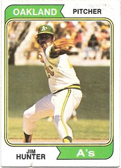 Jim Catfish Hunter 1974