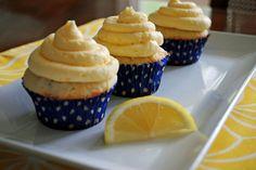 Ryan Bakes: Lemon Cupcakes with Lemon Buttercream. Taste professionally made!