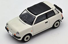 Tomica Limited Vintage NEO LV-N107a Nissan Be-1 with bag