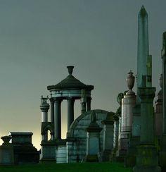 Glasgow Necropolis in Glasgow, Glasgow City