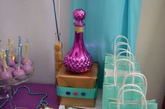 Stephanie S's Birthday / Princess Jasmine - Photo Gallery at Catch My Party Princess Jasmine Party, Princess Theme Party, Disney Princess Party, Disney Party Decorations, Party Themes, Jasmine E Aladdin, 5th Birthday Party Ideas, 8th Birthday, Arabian Nights Party