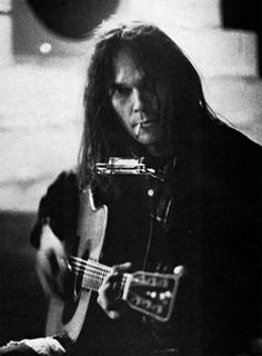 Neil Young, Paris, 1976 Photo by Dominique Tarle