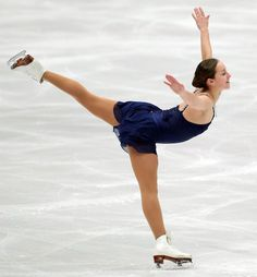 "I did a ""Winter Sports"" inspired workout that simulated motions from several sports including a turn like this in figure skating."