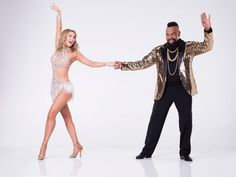 2017: Mr. T, right, will compete with pro Kym Herjavec on the new season of Dancing With the Stars.