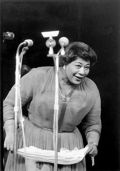 Ella Fitzgerald in Berlin, by Max Schirner (1960)