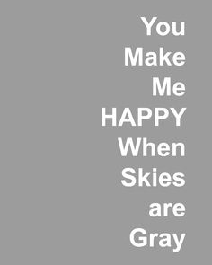 You Make Me Happy @ItsOverflowing Blog