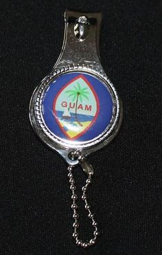 Guam Seal Nail Clipper, Bottle Opener, Key Chain-ALL IN ONE