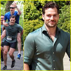 Henry Cavill Gets Sweaty For Durrell Challenge Road Race! Henry Cavill has opened up about filming Mission: Impossible 6 with Tom Cruise! Superman Cavill, Henry Superman, Henry Cavill Eyes, Bound By Honor, Henry Williams, Love Henry, Brown Eyed Girls, King Henry, Matthew Mcconaughey