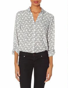 Printed Ashton Blouse from THELIMITED.com #TheLimited #OnlineExclusive
