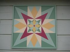 Barn Quilt Designs, Barn Quilt Patterns, Quilting Designs, Blue Quilts, Star Quilts, Quilt Blocks, Wood Crafts, Diy Crafts, Painted Barn Quilts