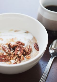 Toasted Coconut Pecan Amaranth Hot Cereal