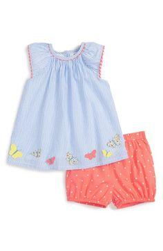 dae6a3999 Mini Boden 'Pretty Appliqué' Top & Shorts Set (Baby Girls & Toddler Girls