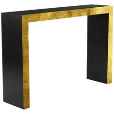 Ebonized Parsons Console Table on Chairish.com(dimensions 47-12/31.5)