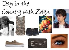 """Day in the Country with Zayn"" by caitlynroseofficial ❤ liked on Polyvore"