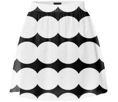 Checkout this design on Summer Skirts, Custom Made, Black And White, Lady, Collection, Shopping, Design, Fashion, Moda